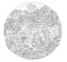 Lost Ocean By Johanna Basford Mandala ColoringColouring PagesAdult