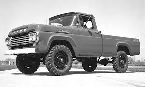 Ford F Series: A Brief History » Autonxt Inside Used Trucks 4 Wheel ...