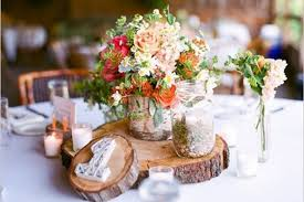 Pictures Gallery Of Rustic Wedding Table Decorations