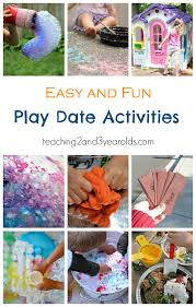 Fun Play Date Activities For Preschoolers