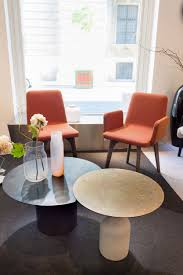 100 Ligna Roset Vik 2 Chairs Oxidation Table And Bandaska Vases By Ligne