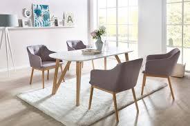 esszimmer essgruppe 5 tlg weiß hellgrau günstig möbel küchen büromöbel kaufen froschkönig24