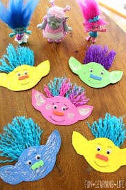 Fun Easy Crafts To Do At Home When Your Bored How Make A Troll Magnet And