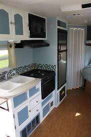 Travel Trailer Renovation Forest River Wildcat AFTER Gallery