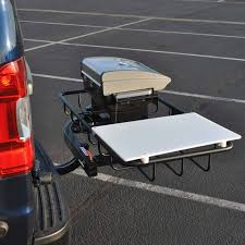 Tailgate Hitch Grill Station | StowAway