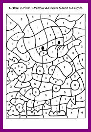 Marvelous Coloring Pages For Teenagers Difficult Color By Number Pic Of Kids To Print Out Style