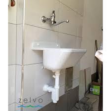 kunststoff ausgussbecken 46x36x20cm eko 20l waschbecken spülbecken