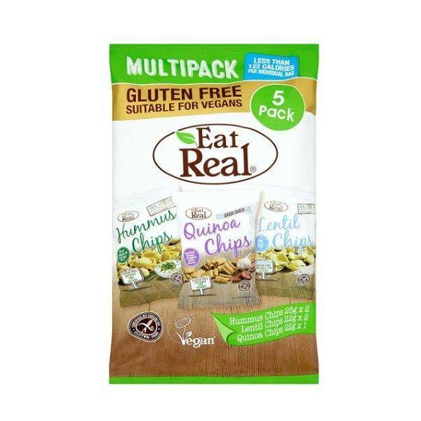 Eat Real Hummus Lentil Quinoa Chips - 116g