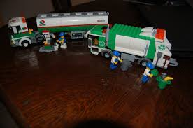 100 Lego City Tanker Truck GasTank 3180 And Garbage 4432 On PopScreen
