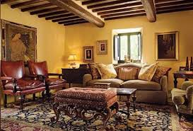 Tuscan Decor Wall Colors by Tuscan Style Living Room Furniture Solid Wood Frame Decorative