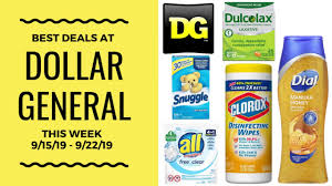 Best Deals At Dollar General This Week 9/15 - 9/22/19