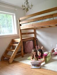 Loft Bed Plans Free Full by Loft Beds Outstanding Easy Loft Bed Pictures Diy Loft Bed Plans