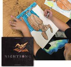 Halloween Picture Books For 4th Grade by Draw A Bat And The Perfect Book Art Projects For Kids