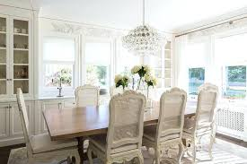 Built In Dining Room Cabinets French Dining Room With Built In China