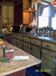 Primitive Kitchen Countertop Ideas by 216 Best Prim Kitchens Images On Pinterest Primitive Decor