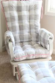 Cushion: More Enjoyable With Replacement Cushions For Glider Rockers ...