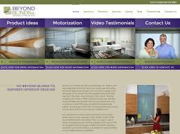 100 Conrad Design WordPress Website Beyond Blinds Inc Custom Blog