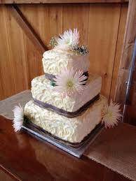 Twentyone Square Country Wedding Cakes By Annie Rustic