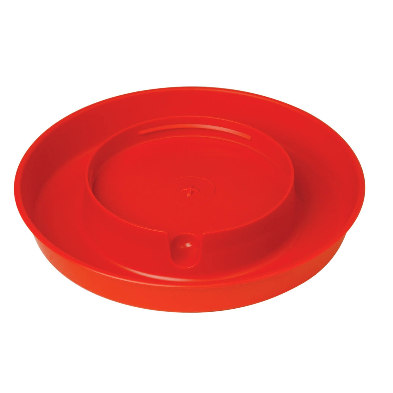 Miller Screw on Poultry Base Waterer - Red, 1 Gallon