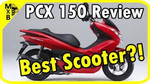 Honda PCX150 Review
