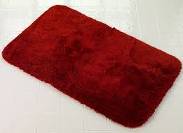 lovely simple red bathroom rug set bath mat set 3 piece rug toilet