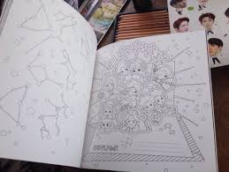 I Showed My Mom The Coloring Book And Shes Really Surprised At Just How Detailed Each Page Is Its Simply Beautiful Exo Art