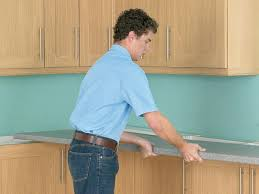 Cabinet Filler Strip Install by How To Install A Countertop How Tos Diy
