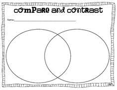 bureau udes structure compare and contrast graphic organizer notebooking