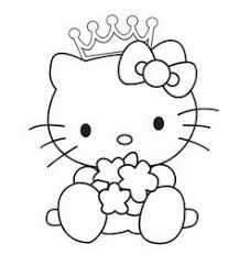 Hello Kitty Print Out Coloring