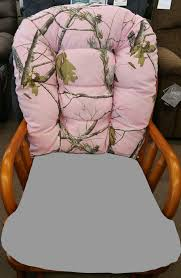 Pink Camouflage Glider Rocker (Back Cushion Only) For Bedazzle Chair Fniture Add Comfort And Style To Your Favorite Chair With Rocking Breezesta Coastal Double Glider Collections Polywood Adirondack Rockgliding Cushion Outdoor Cushions Twillo Set Miles Kimball Gliding Rocking Chairs Inclusionriderco Chairs Gliders Kohls Amazoncom Storkcraft Tuscany Custom And Ottoman With Free Decor Comfortable For Furnishing Enjoyable Home Lumbar Pillow White Casual Alfresco