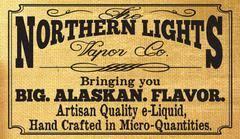 Northern Lights Vapor Hand crafted with an Alaska flair