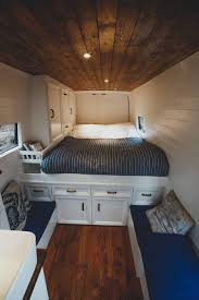 100 Vans Homes Couple Converts Van Into Fulltime Traveling Home For 13K TreeHugger