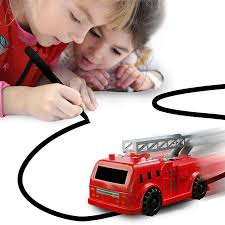 100 Toddler Fire Truck Videos Amazoncom Nylea Magic Vehicles Inductive Follows Black Line