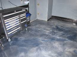100 Solids Epoxy Garage Floor Paint by Metallic Stained Floor Redeckonwo