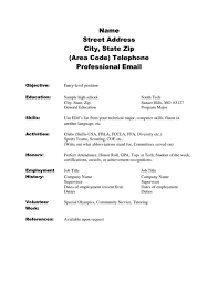 Resume Template For High School Student With No Work Experience How Rh Sevte Com