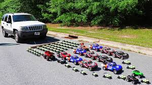 100 Rc Pulling Truck How Many Toy Cars Are Needed To Pull A Jeep Grand Cherokee
