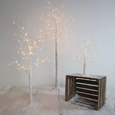 LED Light Up Pre Lit Birch Twig Tree Decoration
