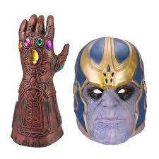 Thanos Infinity Gauntlet Glove Cosplay Infinity War The Avengers