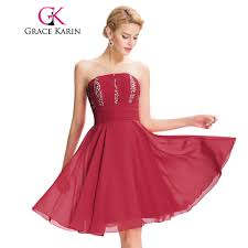 popular strapless red prom dress buy cheap strapless red prom