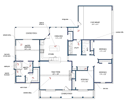 Tilson Homes Marquis Floor Plan by Montgomery Tilson Homes