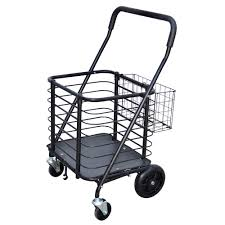 100 Truck Accessories Milwaukee HeavyDuty Steel Shopping Cart With Accessory Basket In