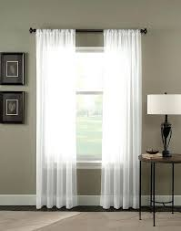 Sheer Curtains At Walmart by Curtains Walmart Canada Trinity Crinkle Voile Sheer Curtain Panel