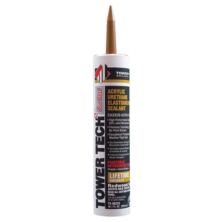 Tower Sealants Sealant Redwd-tan 10.1oz,