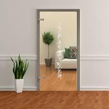 glastür aufkleber aus hochwertiger wasserfester glasdekorfolie