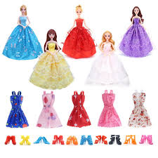 Barbie Doll Pics In Red Dress