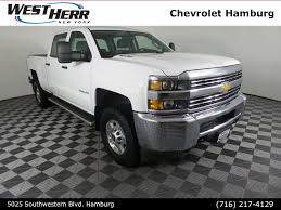 100 West Herr Used Trucks 2016 Chevrolet Silverado 2500HD For Sale In The Buffalo NY