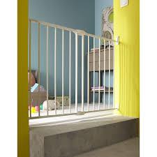 barriere escalier leroy merlin barrière de sécurité en métal 63 5 102 cm haut 68 cm leroy merlin