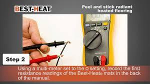 Suntouch Heated Floor Not Working by Best Heat Peel U0026 Stick Tile Floor Heating System Youtube