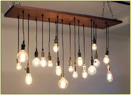 vintage light bulb chandelier and best 25 edison ideas on