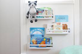 These DIY Bookshelves Boast A Small Footprint Making Them Perfect For Even The Smallest Nursery Playroom Or Family Room
